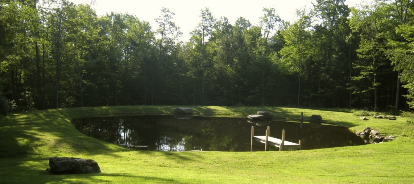 Pond design by Bannon Engineering